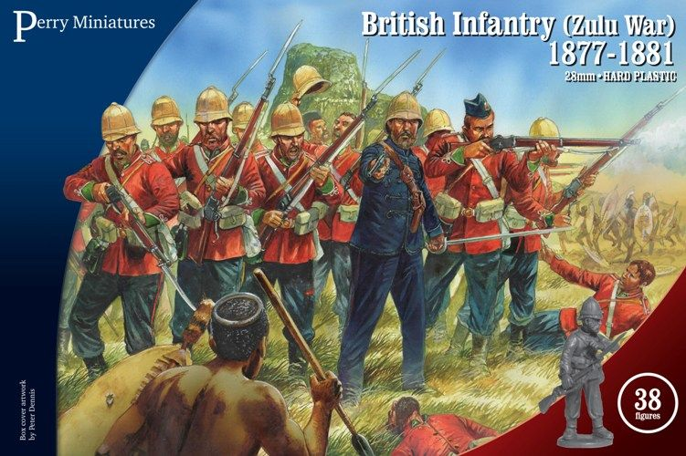 Perry Miniatures 28mm British Infantry (Zulu War) 1877-1881 # VLW20