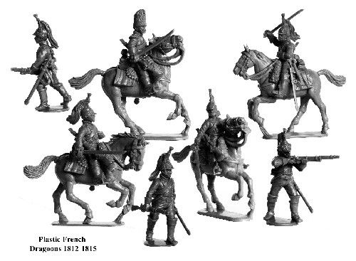 Perry Miniatures 28mm Napoleonic French Dragoons 1812-1815 # FN130