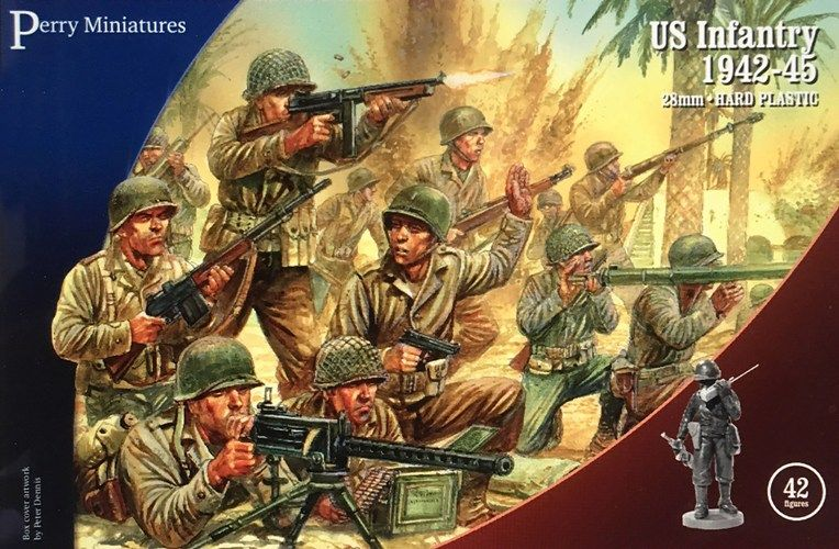 Perry Miniatures 28mm US Infantry 1942-45 # US1