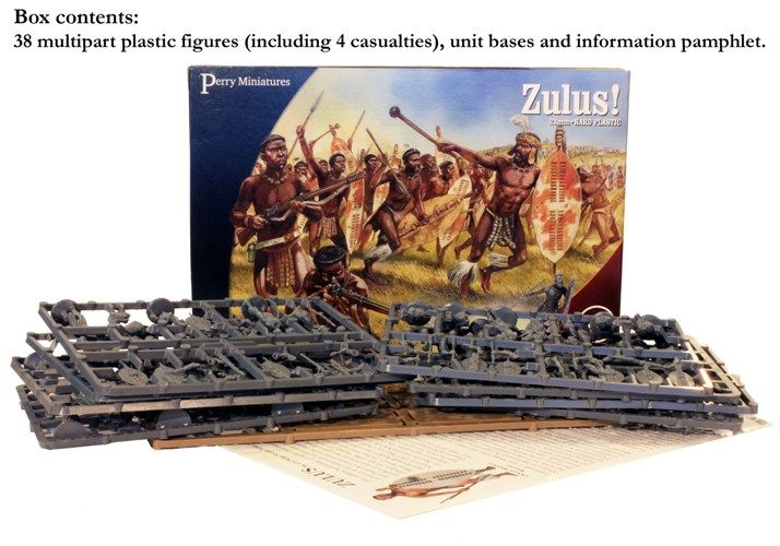 Perry Miniatures 28mm Zulus! # VLW41
