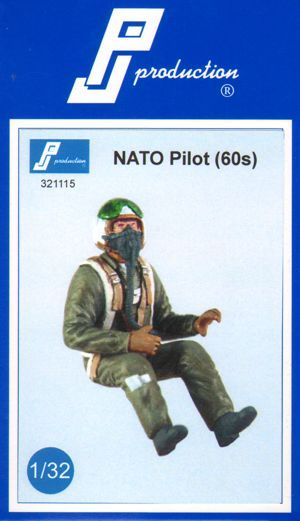 PJ Productions 1/32 NATO pilot of the 60s # 321115