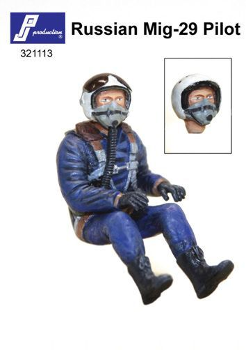 PJ Productions 1/32 Russian MiG-29 Pilot Seated # 321113