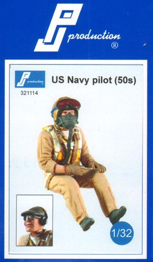 PJ Productions 1/32 U.S. Navy pilot of the 50s # 321114