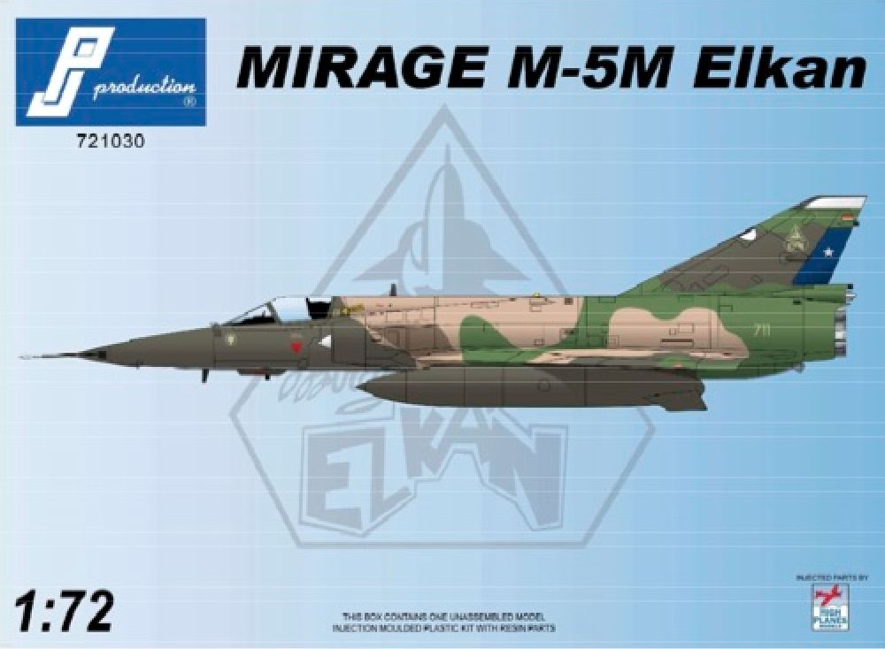 PJ Productions 1/72 Dassault Mirage M-5M Elkan (Chilean) # 721030