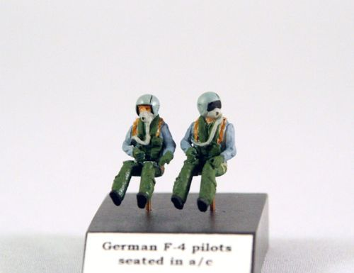 PJ Productions 1/72 German F-4 Pilots seated in aircraft # 72112