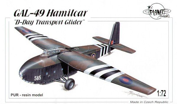 Planet 1/72 GAL-49 Hamilcar transport glider # 102