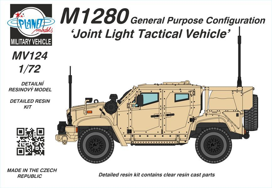 Planet 1/72 M1280 General Purpose Configuration 'Joint Light Tactical Vehicle' # MV124