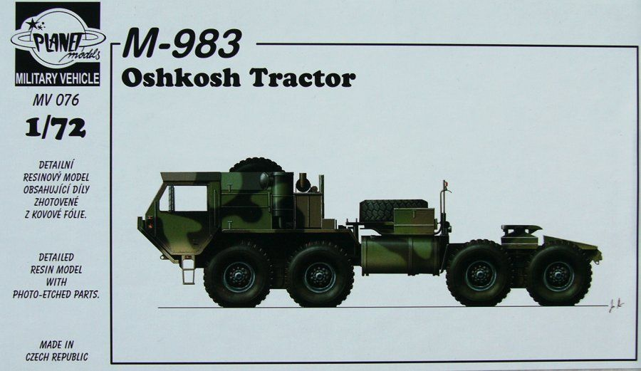 Planet 1/72 M983 Oshkosh Tractor # MV076