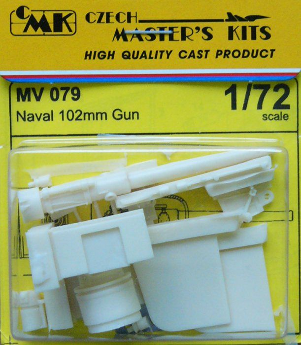 Planet 1/72 Naval 102mm Gun # MV079