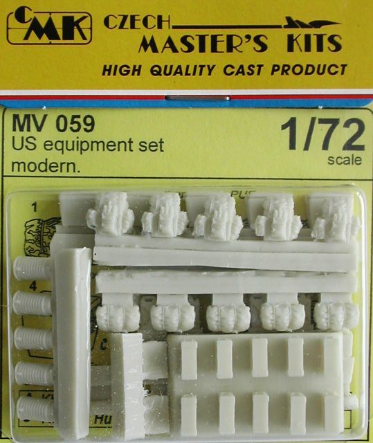Planet 1/72 US Equipment Set Modern # MV059