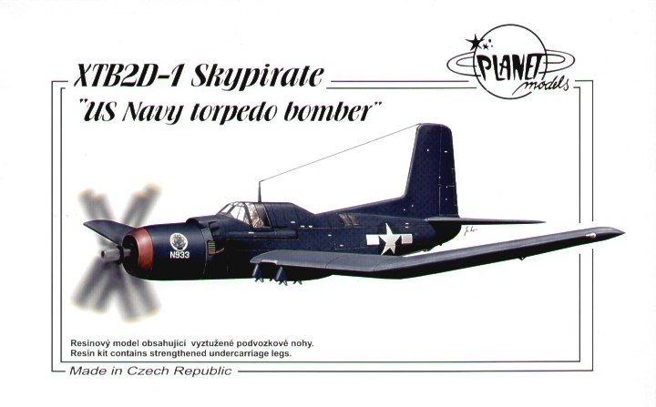 Planet 1/72 XTB2D-1 Skypirate # 144