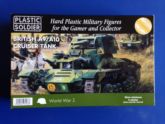 Plastic Soldier 15mm A9/A10 Cruiser Tank # WW2V15029