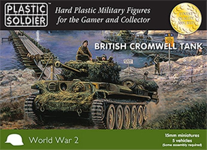 Plastic Soldier 15mm British Cromwell Tank # WW2V15022