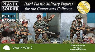 Plastic Soldier 15mm British Partaroopers 1944-45 # WW2015015