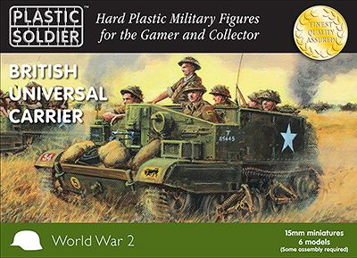Plastic Soldier 15mm British Universal Carrier # WW2V15032