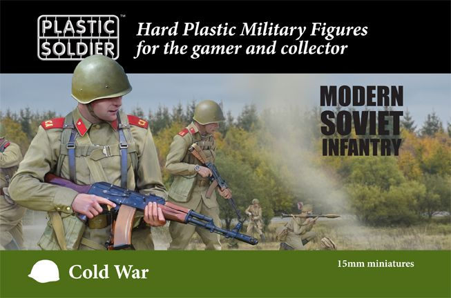Plastic Soldier 15mm Cold War Soviet Infantry # MOD015001