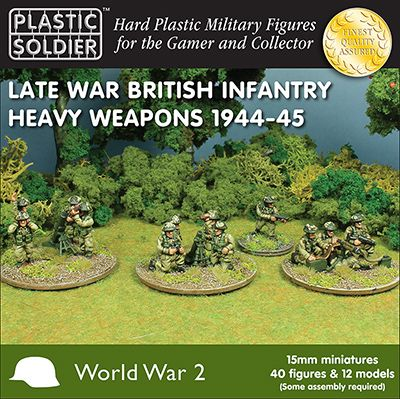 Plastic Soldier 15mm Late War British Infantry Heavy Weapons 194