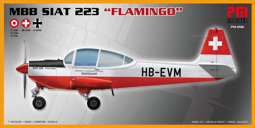 "PM Model 1/48 MBB Siat 223 ""Flamingo"" # 206"