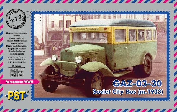 PST 1/72 GAZ-03-30 m.1933 Soviet City Bus # 72082
