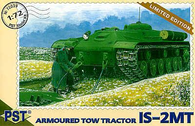PST 1/72 IS-2MT Armoured Tow Tractor # 72039