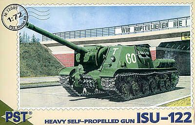 PST 1/72 ISU-122 Heavy Self-propelled Gun # 72005