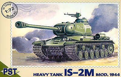 PST 1/72 Jozef Stalin IS-2M 1944 Heavy Tank # 72003