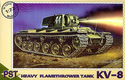 PST 1/72 KV-8 Heavy Flamethrower Tank # 72015