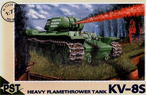 PST 1/72 KV-8S Heavy Flamethrower Tank # 72026
