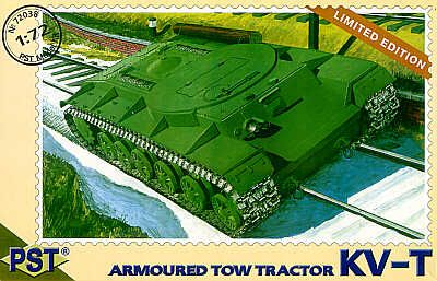 PST 1/72 KV-T Armoured Tow Tractor # 72038