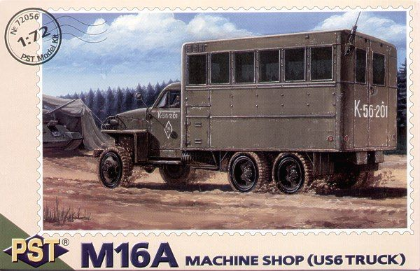 PST 1/72 M16A Machine Shop (US6 Truck) # 72056