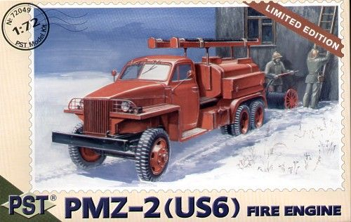 PST 1/72 PMZ-2 (US6) Fire Engine # 72049