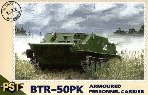 PST 1/72 Russian BTR-50PK Armoured Personnel Carrier # 72054