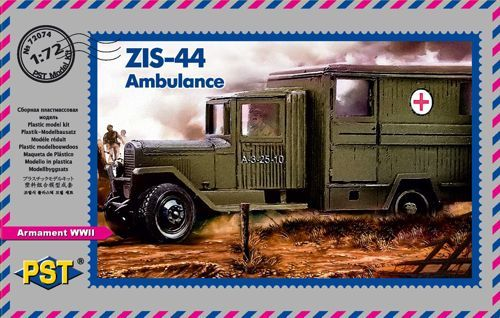 PST 1/72 ZIS-44 Ambulance # 72074