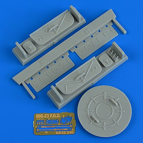 Quickboost 1/32 Mikoyan MiG-23MF/MLD FOD Covers # 32230