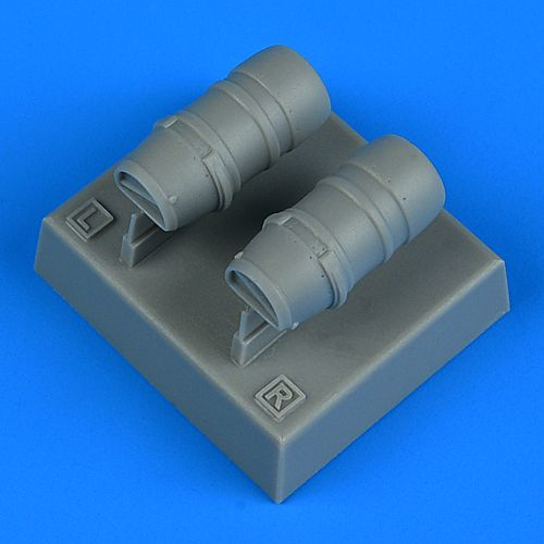 Quickboost 1/48 Macchi Mc.205 Veltro Oil Radiators # 48922