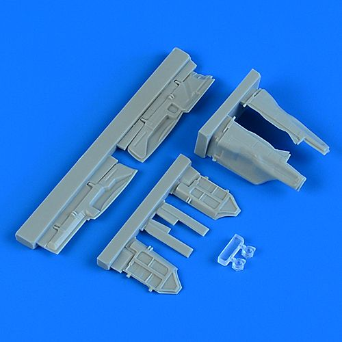 Quickboost 1/48 Mikoyan MiG-29 Fulcrum Undercarriage Covers # 48905