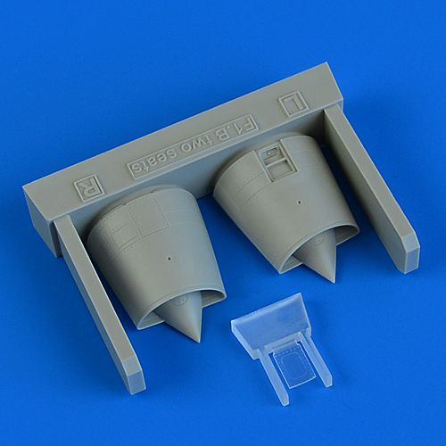Quickboost 1/72 Dassault Mirage F.1B Air Intakes # 72616