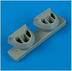 Quickboost 1/72 P-38J Lightning Correct Air Intakes # 72198