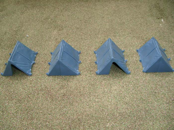 Renedra 28mm Dog Tents # RN6