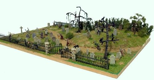 Renedra 28mm Gravestones # GS1