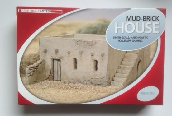 Renedra 28mm Mud-Brick House