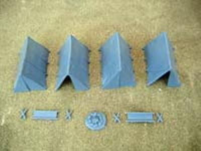 Renedra 28mm Ridge Tents # RN2