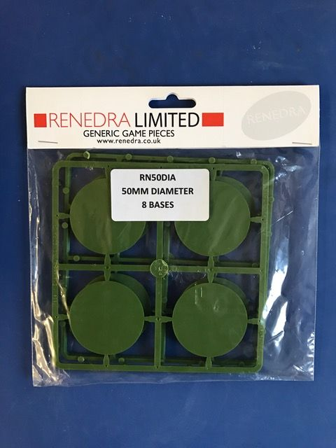 Renedra 50mm Diameter 8 Bases # RN50DIA