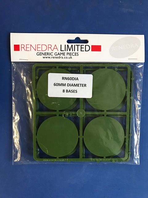 Renedra 60mm Diameter 8 Bases # RN60DIA