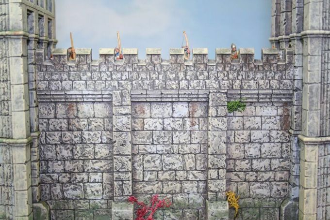 Renedra - Castle Wall Sections # RNWALL