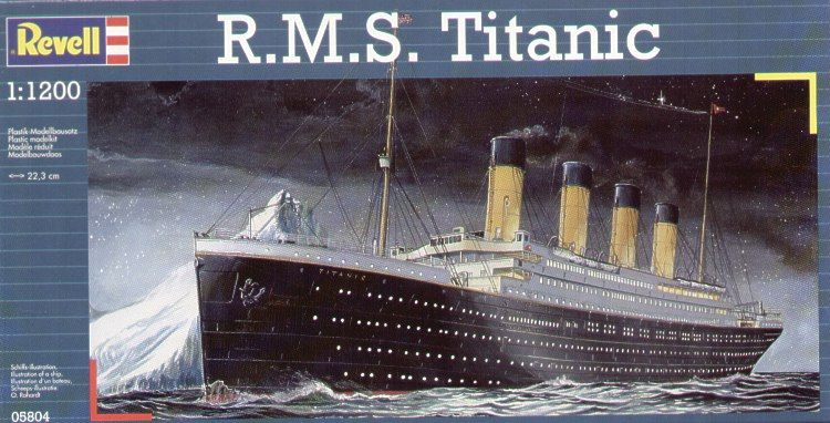 Revell 1/1200 RMS Titanic # 05804