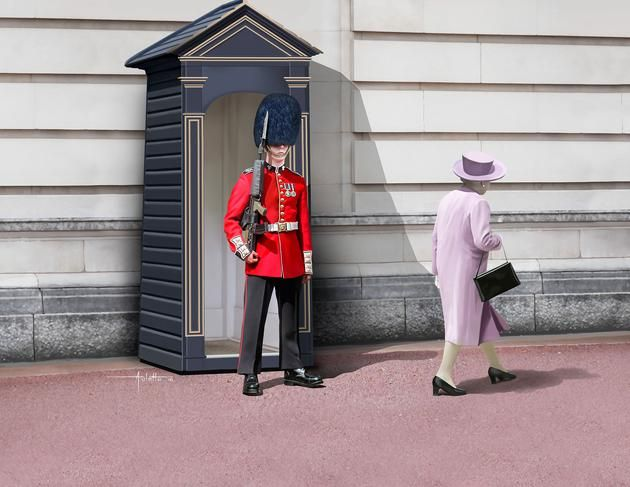 Revell 1/16 Queen's Guard # 02800