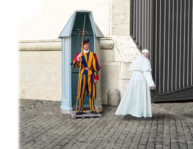 Revell 1/16 Swiss Guard # 02801