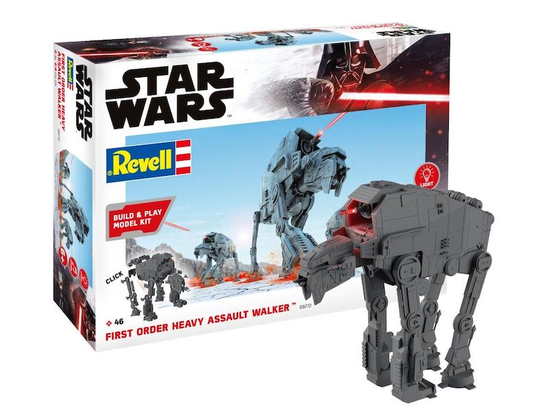 Revell 1/164 Star Wars First Order Heavy Assault Walker Build & Play # 06772