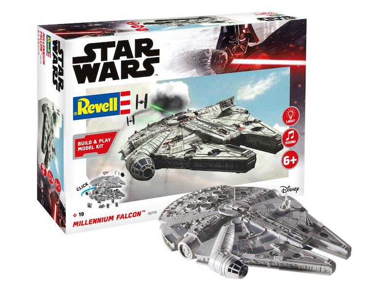 Revell 1/164 Star Wars Millennium Falcon Build & Play # 06778